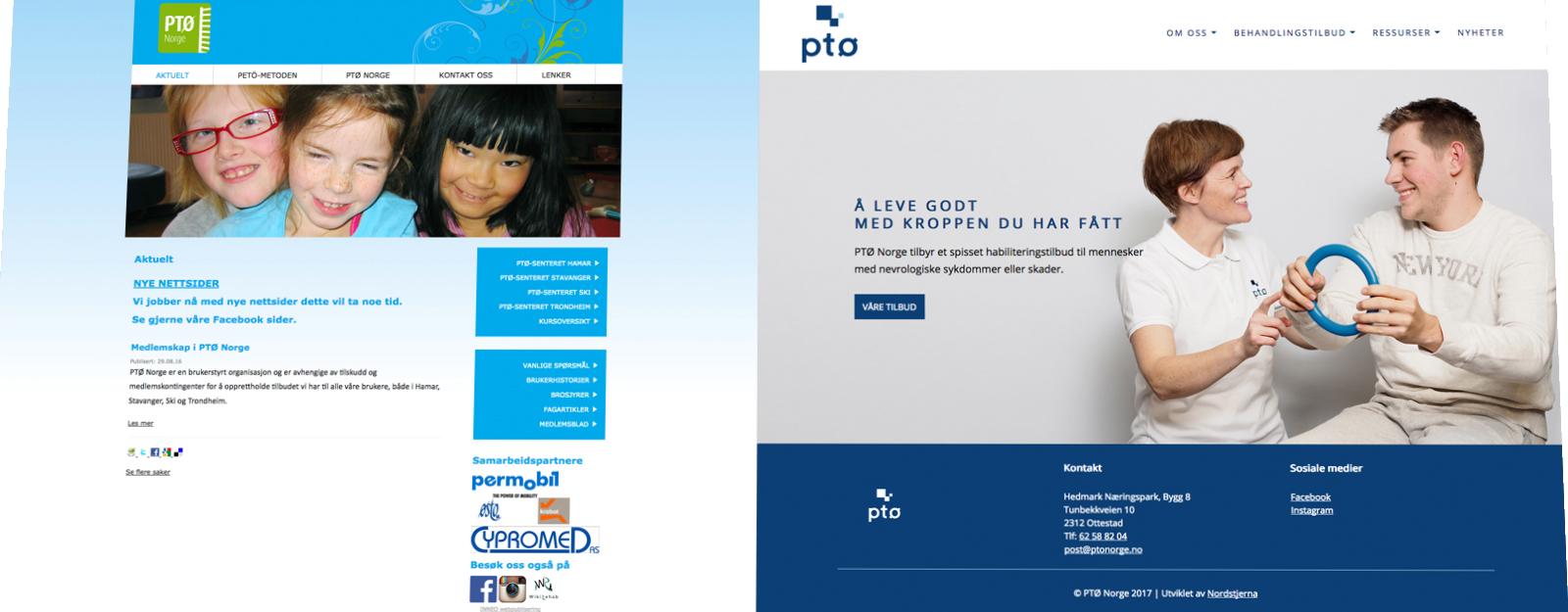 PTØ Norges nye nettside er lansert