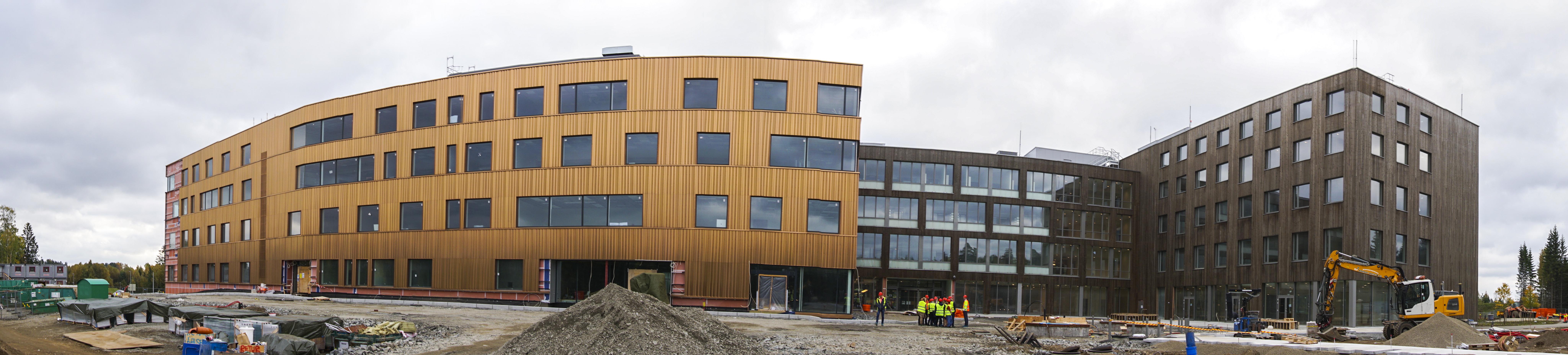 PTØ Norges nye hovedsenter begynner å ta form