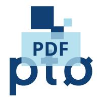 PTØ Norges logo i PDF-format for nedlasting