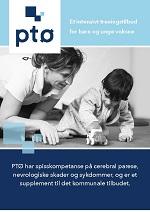 Brosjyre om PTØs habiliteringstilbud til barn og unge