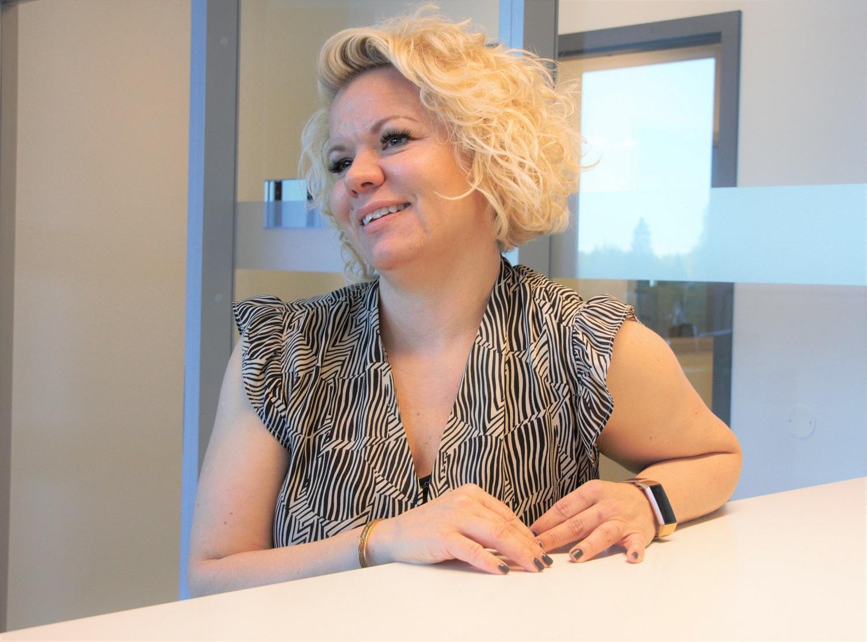 Bilde av ny administrativ leder Lise Udklit